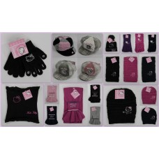 ACCESSORI HELLO KITTY CAPPELLI E SCIARPE ASSORTITE IN STOCK (200 pz. € 1,50)