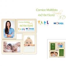 CORNICE MULTIFOTO CUBIC 4 PZ 10X15 31568
