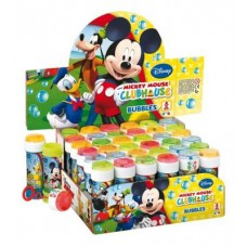 Bolle Sapone Disney Mickey Display 36pz Made In Italy