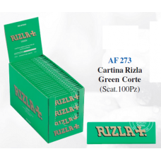 CARTINA RIZLA GREEN CORTE (Scat 100 pz)