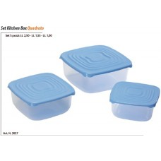 SET KITCHEN BOX QUADRATO