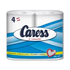 CARESS BLU IG. 4 SUPER ROTOLI