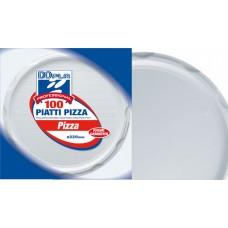 CONTENITORE PIZZA D.320 100PZ BIANCHI