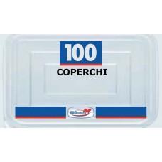 COPERCHI C/11 100PZ TRASPARENTI