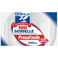 SCODELLE BIANCHE 100PZ
