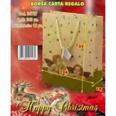 BORSA CARTA REGALO 26X10X32 CM