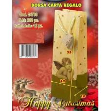 BORSA CARTA REGALO 12X10X35 CM