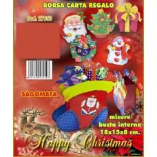 BORSA CARTA REGALO 18X15X8
