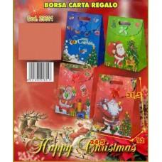 BORSA CARTA REGALO 31.5X24.5X12