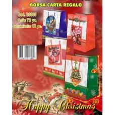 BORSA CARTA REGALO  33X22X45 CM