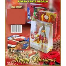 BORSA CARTA REGALO 23X18X9