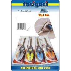 ACCENDIGAS CON LUCE 23,5 CM COL.ASS.