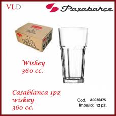 BICCHIERE CASABLANCA WISKEY