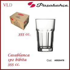 BICCHIERE CASABLANCA BIBITA 355cc