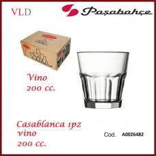 BICCHIERE CASABLANCA VINO 200cc