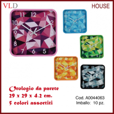 OROLOGIO DA PARETE 29X29X4,2 cm