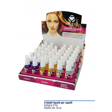 CRISTALLI LIQUIDI PER CAPELLI 57 ML (Display 36 pz)
