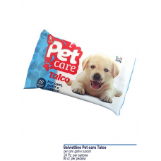 SALVIETTINE PET CARE TALCO