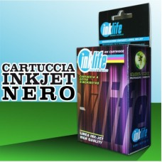 Compatibile Inklife Canon CLI 571XL Nero 11 ML Con Chip