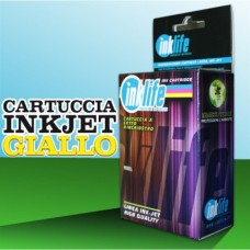 Compatibile Inklife Canon CLI 571XL Giallo 11ML Con Chip